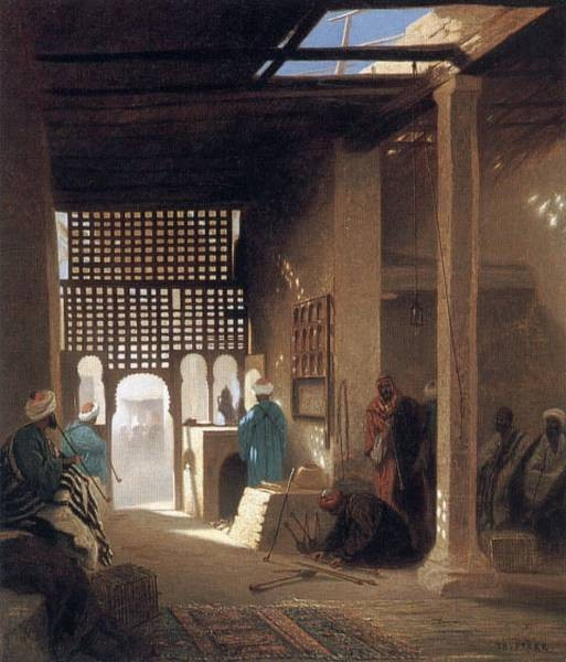 Interior of a Moorish Cafe